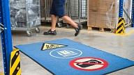 Paklāji ražotnēs, kas uzlabo darba ražību un drošību